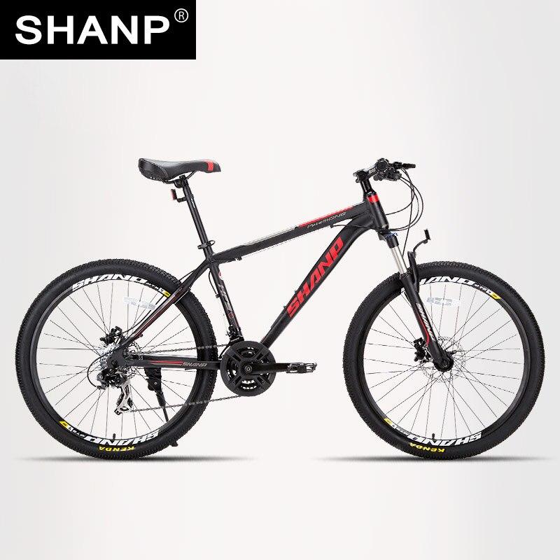 SHANP Mountainbike Aluminium Rahmen 21/24 Gang Shimano 26