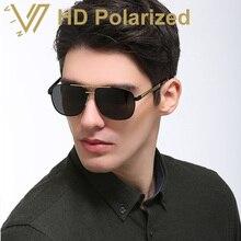 Hombres gafas de sol polarizadas de la vendimia gafas de sol gafas mirrored sombra hombres lentes gafas gafas de sol masculino 2017 new
