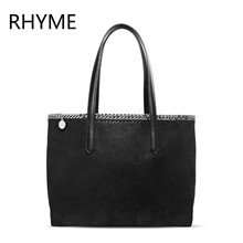 RHYME Stella Women Tote Bag Top-handle Shoulder Falabellas Tasche Vintage Evening Bolso Socialite Fashion Sac A Main Lady Torba