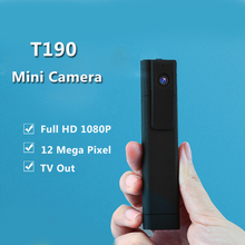 T190 Mini Camera Full HD 1080P H.264 Meeting Pen Camera Digital Micro Video Camera Mini DVR Camera Voice Recorder Espia(China)