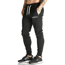 2017 Muscle doctor fitness brothers summer fall leisure trousers and bodybuilding men's slim pants
