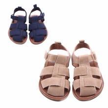 New arrival Fashion PU Leather Male Child Sandals Shoes Children Baby Boy Summer Sandals Casual Slip-resistant Baby Shoes