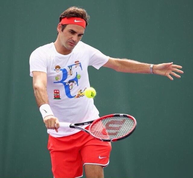 Manches À Vache Suisse Federer Roger Courtes Shirt T Grand Rois ft6qxxPHw