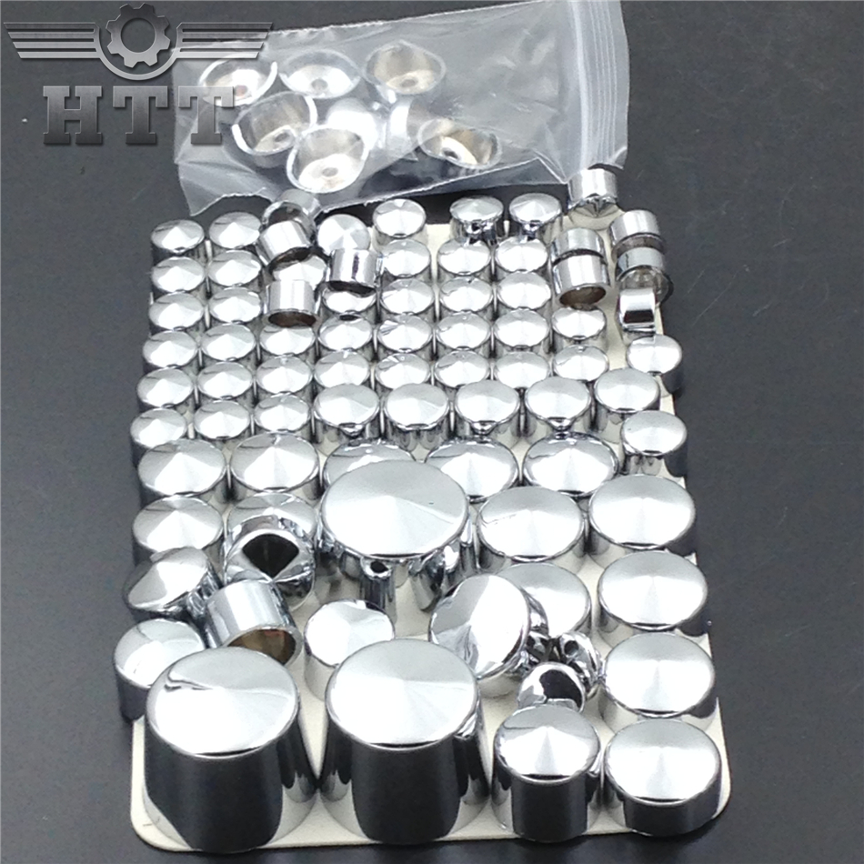 Free shipping Motorcycle parts Bolts Toppers Caps for 2000-2005 2006 Harley Davidson Softail Twin Cam CHROMED aftermarket free shipping motor parts toppers caps for 2007 2008 2009 2010 2011 2012 harley davidson softail twin cam chrome