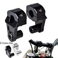 22mm podnośnik kierownicy zacisk adapter do montażu dla Honda CB 250 450 500 650 700 750 Nighthawk CB 599 600F 900F Hornet CBF 600N 1000 XR