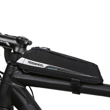 ROSWHEEL Cycling Aero Compact Top Tube Bag Bicycle Front Beam Storage Pouch Road Bike Stem Mount Pannier Bicicleta Triathlon Bag