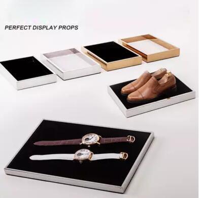 ФОТО Garment Fashion Boutique Store Fixture merchandising display rack shoes glasses watch jewelry pen Perfume holder tray