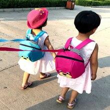 Plush Backpacks Anti-lost Kids Baby Walking Backpack Safety Bag Cute Animal Bear Children Backpacks Kindergarten Bag Aged 1-3 цены онлайн