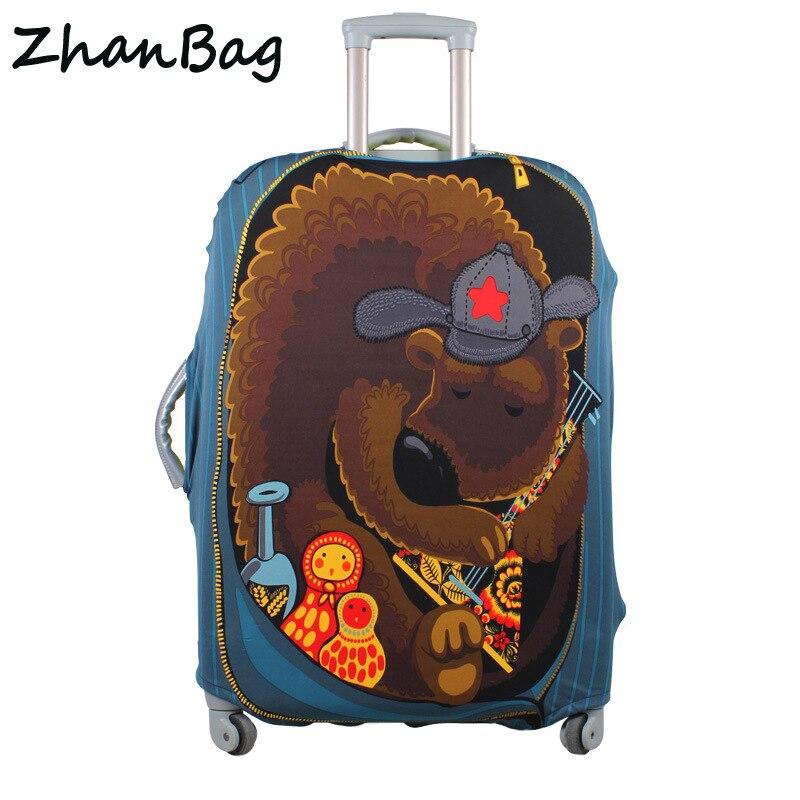 Reise Gepäck Koffer Schutzhülle, Stretch Staubdicht Schutz Abdeckung, koffer Abdeckung Gelten zu 18-30 zoll Fällen, Z-114