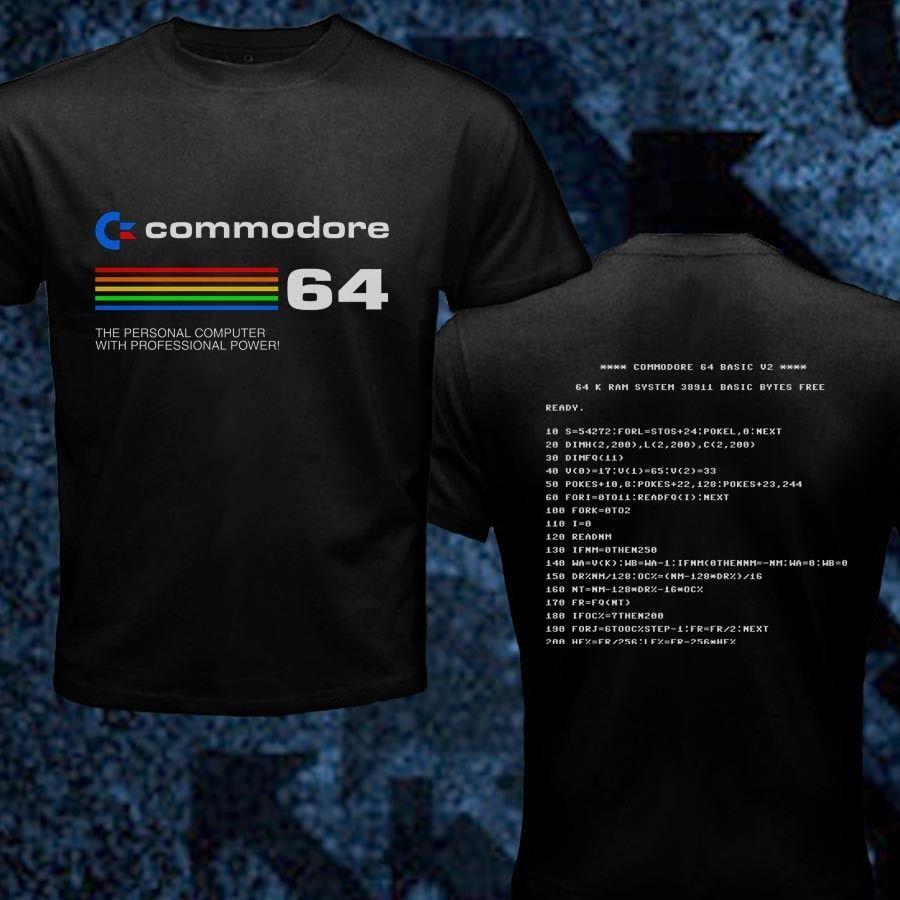Commodore 64 Computer Geek Retro Baby One Piece T Shirt