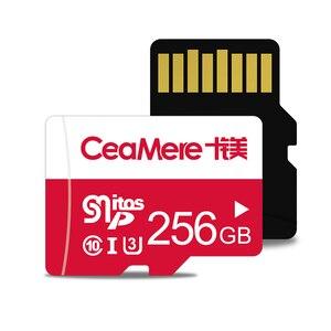 Image 2 - CeaMere Scheda di Memoria 256GB 128GB 64GB U3 UHS 3 32GB Micro carta di deviazione standard di Class10 UHS 1 flash card di memoria Microsd TF/SD CARD per Tablet