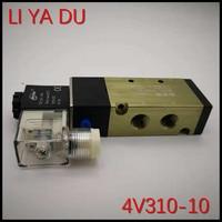 5pcs 4V310 10 G3/8 2 Position 5 Port Reversing valve/control valve 5/2 way AC110V 220V 380V 36V DC12V 24V
