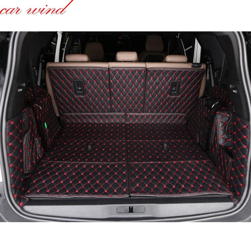 Car wind Custom car trunk mat For peugeot 4008 5008 307 308 Cargo Liner Interior Accessories Carpet car styling Trunk mat
