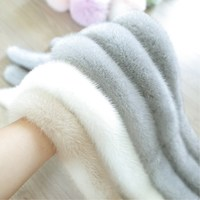 2018 New Winter Fur Fashion Popular Color Mink Fur Fur Scarf Scarf Color Long Mink Collar Female