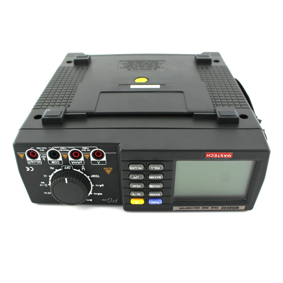 MASTECH MS8040 22000 графы AC DC Напряжение ток Авто Диапазон Bench мультиметр True RMS низких частот фильтрации с RS 232 интерфейс