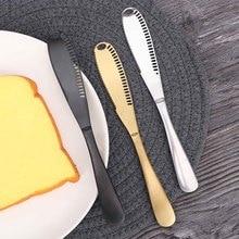 Многофункциональный нож для масла из нержавеющей стали, нож для крема, Западный хлебный нож для джема, резак для крема, столовые приборы, инструмент для десерта, Butte