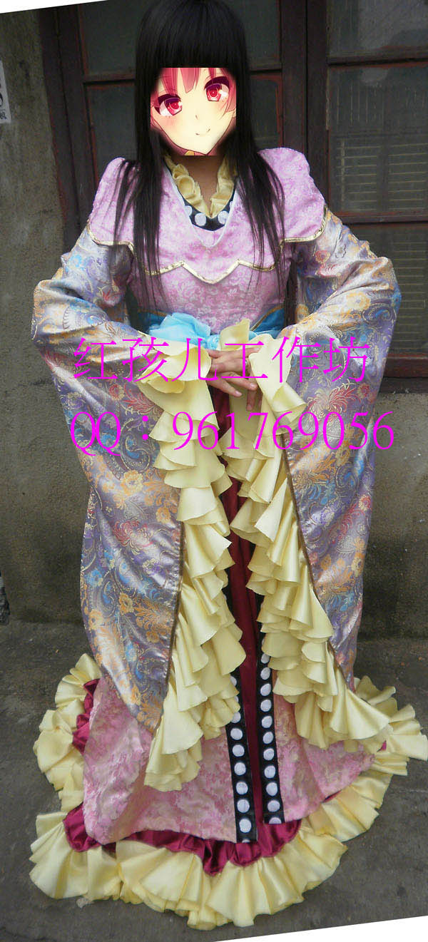 Magi The Labyrinth of Magic Kogyoku Ren Cosplay Costume dress Any Size