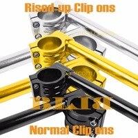 Adjustable Racing CNC Motorcycle Handlebars 33 35 36 37 39 41 45 46 48 50 52