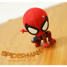 Avengers 4 Spider Man:Far From Home 8cm Man decoration PVC Figurine Collection Model Toys B515