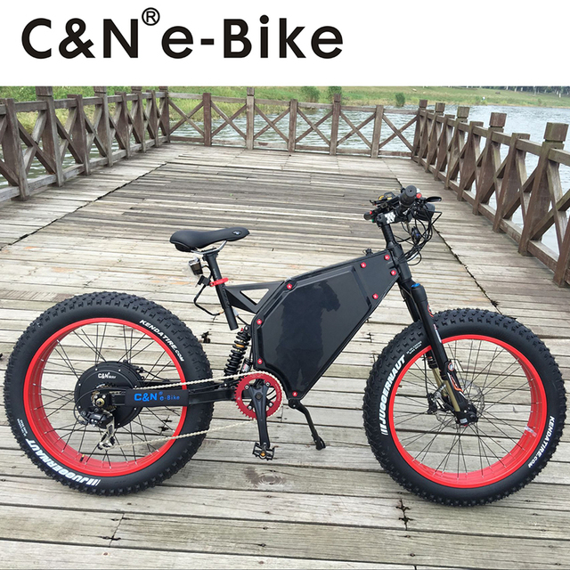 2018 cooles Design 72 v 5000 watt Fett Reifen E bike