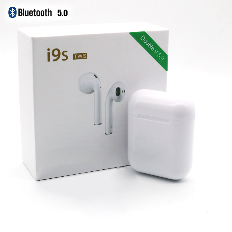 I9S TWS Air Pods V5.zero Double Ears Name Wi-fi Bluetooth Earphones Headset Stereo Earbuds For iPhone 6 7 eight Plus SE XR Android Bluetooth Earphones & Headphones, Low cost...
