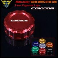 Red Black Golden Blue Logo Motorcycle CNC Clutch Fluid Reservoir Cap Master Cylinder Cover For Honda