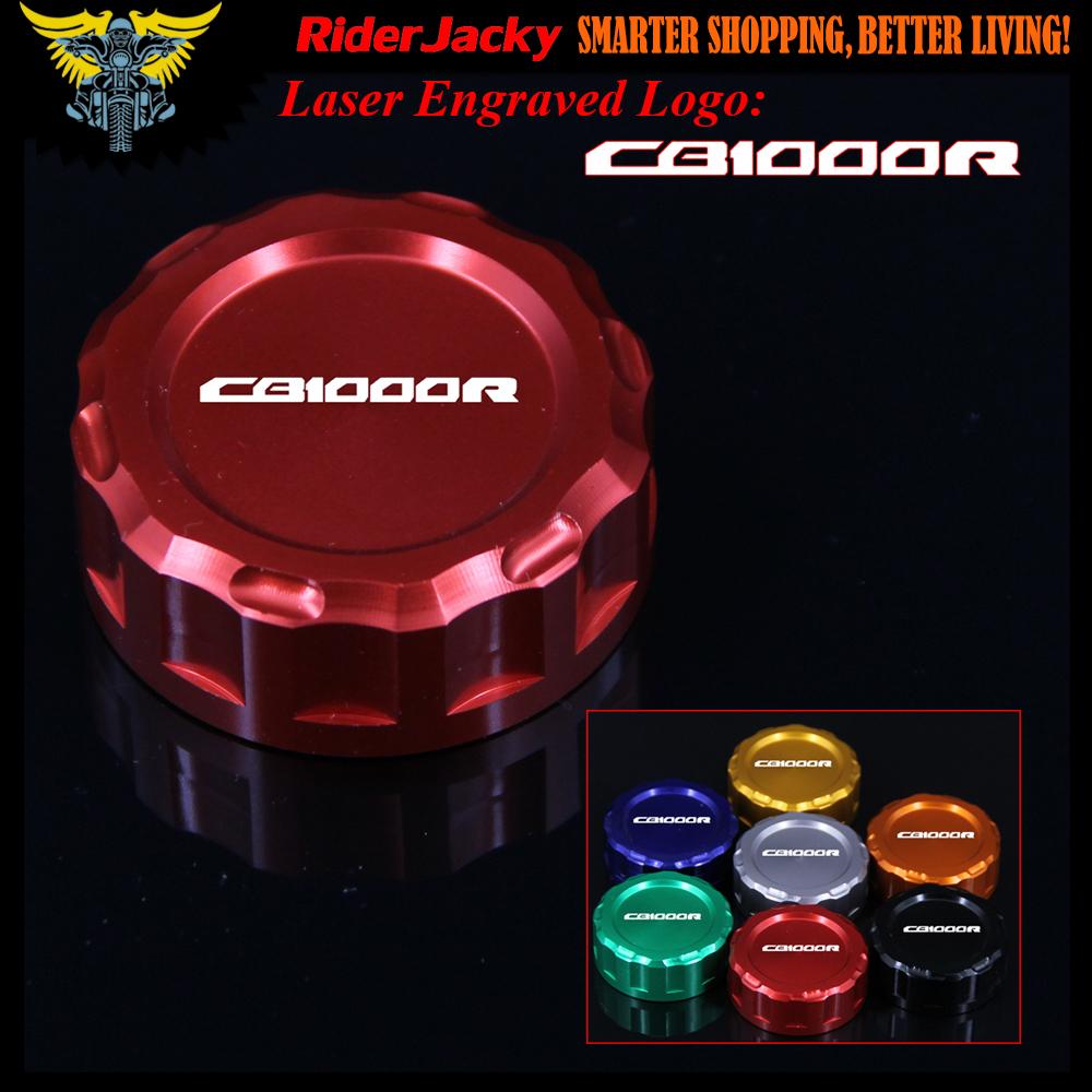 Logo honda rouge - Rouge Noir Or Bleu Logo Moto Cnc D Embrayage R Servoir De Liquide Cap Master Cylindre