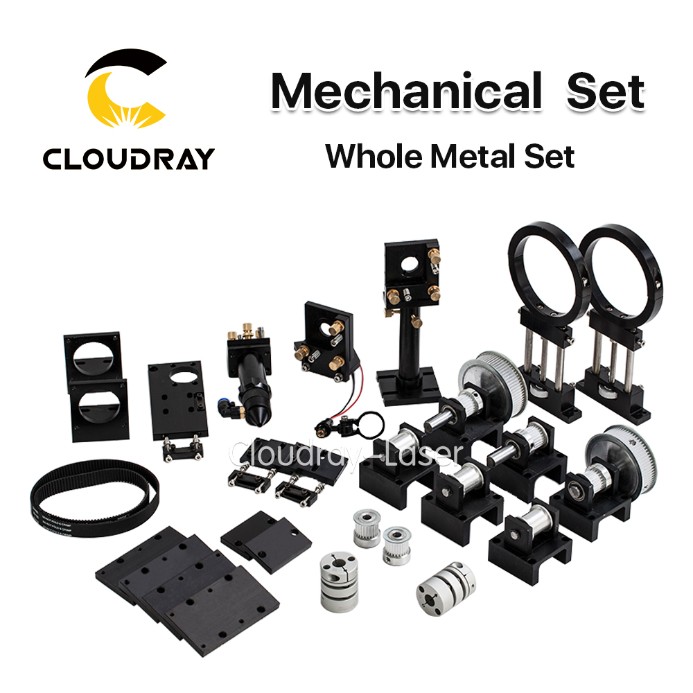 Cloudray CO2 Laser Metal Parts Transmission Laser head Mechanical Components for DIY CO2 Laser Engraving Cutting Machine co2 laser head set co2 laser metal parts co2 laser path use for laser cutting and engraving machine