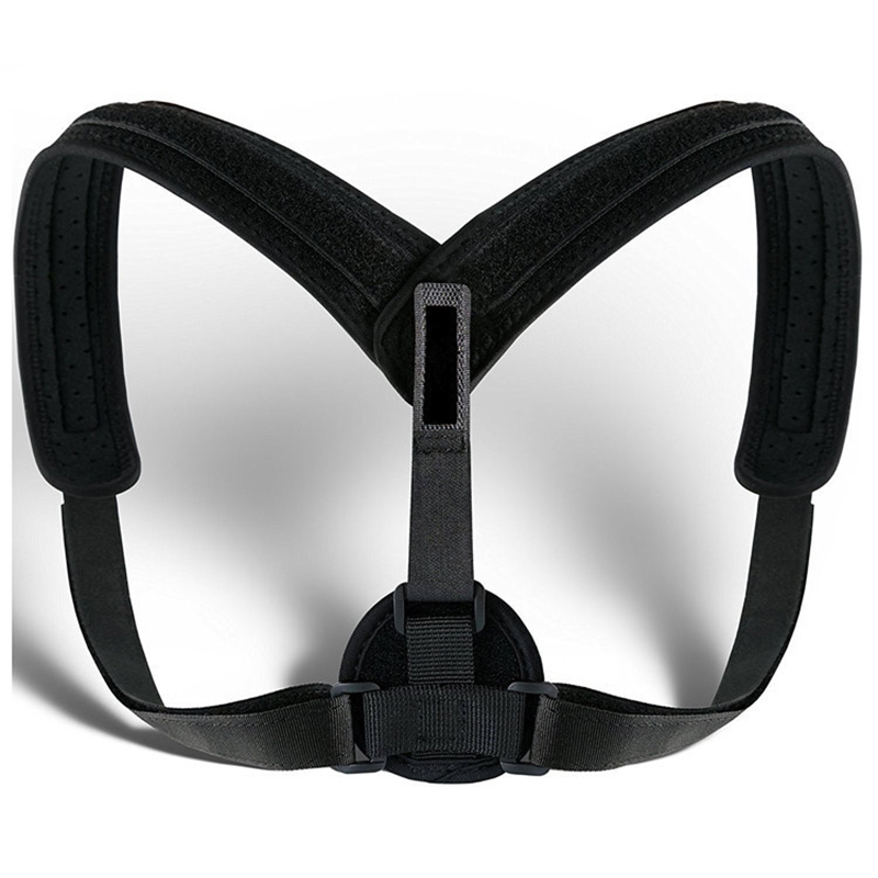 Health Care Shoulder Back Belt Back Support Waist Brace Adjustable Posture Corrector Pain Relief Massage & Relaxation Tool 30 hailicare back relief belt waist brace support belt lumbar traction backach waist brace pain release health massager health care