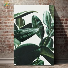 Green Houseplants Wall Art Canvas Painting Nordic Posters And Prints Pop Picture For Living Room Decoration Home