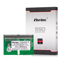 New Zheino SSD DOM 44PIN IDE/PATA MLC 16GB Horizontal+Socket Industrial Disk On Module Solid State Drives