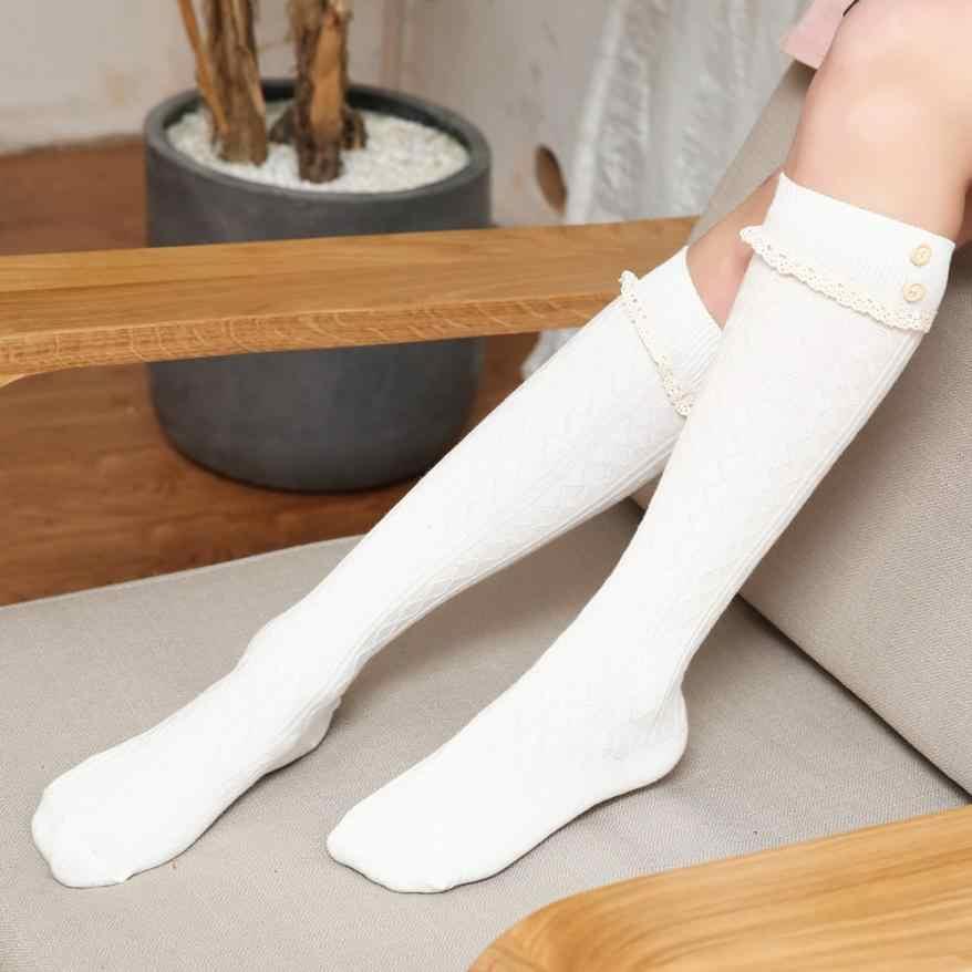 Yeni varış yumuşak kadın çorap kış sıcak örgü uzun çizme çorap diz yüksek ince bacak uyluk yüksek kaliteli nefes kadınlar çorap # W