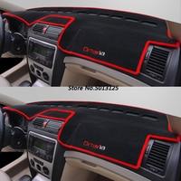 Car Dashboard Mat Cover Pad Anti UV Sun Shade Instrument Panel Carpet For Skoda Octavia A7 A5 A4 2007 2014 2015 2019