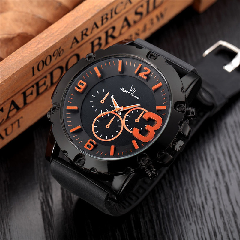 Fashion Men Male Wrist Watch Thin Silica Gel Students Sports Quartz Watches Moment Clock Gift Whosales Dropshipping #15 fashion top gift item wood watches men s analog simple hand made wrist watch male sports quartz watch reloj de madera
