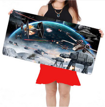 Large mouse pad laptop locking edge gaming mouse pad