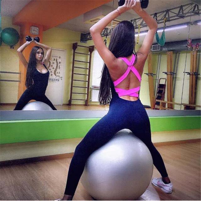 One Piece Sportswear Gym Yoga Outfit Set