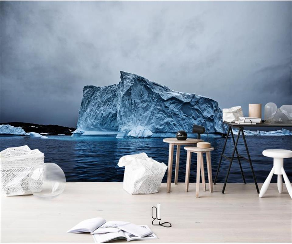 3d wallpaper photo wallpaper custom living room mural sea ice mountain 3D painting picture TV wall mural wallpaper for walls 3d custom 3d photo wallpaper waterfall landscape mural wall painting papel de parede living room desktop wallpaper walls 3d modern