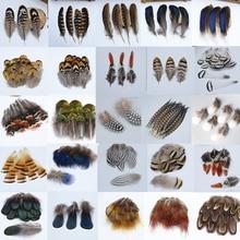 10-500 шт Высокое качество красивые натуральные перья павлина фазана перо S Plume ювелирные изделия Рождество праздник украшения на выбор