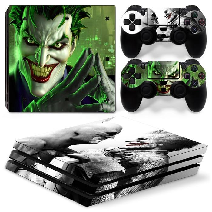 Joker Dustproof Console Decal Skin Sticker For PS4 Pro