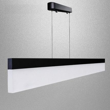 Aliexpress.com : Buy Simple Creative Strip Droplight Modern LED Pendant Light  Fixtures For Office Study Dining Room Hanging Lamp Home Lighting From  Reliable ...