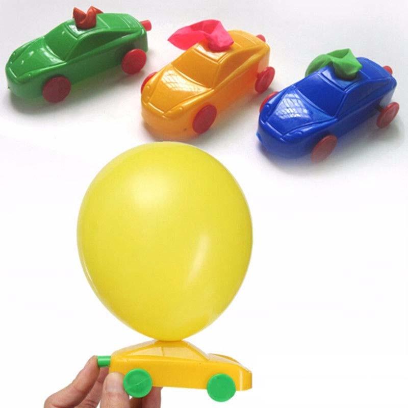 1/5/10PCS New DIY Balloon Car Kids Science Experiment Toys Students Toys DIY Ballon Car Build Kit Toy NSV775