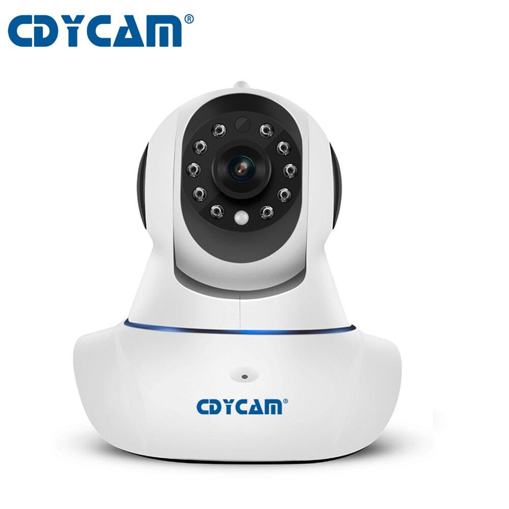 CDYCAM C25 720P HD Wifi IP Camera P2P Network IP Camera 2Way Audio Onvif baby monitor Security Camera support max 128GB Card