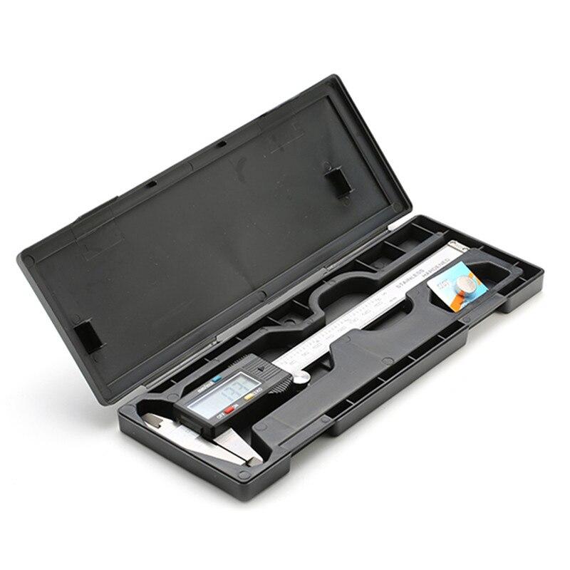 Alta Calidad LCD Digital Electronic Vernier Caliper 150mm/6 inch Micrómetro Herr