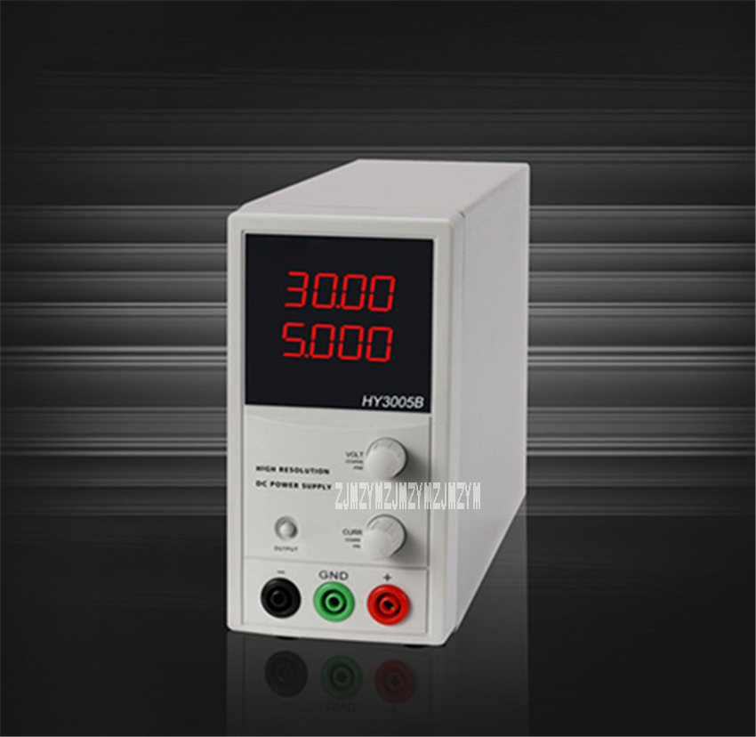 HY3005B Digital DC Regulated Power Supply 0-30V 0-5A Power Supply Voltage Regulator Single-phase DC Power Supply 110V/220V 150WHY3005B Digital DC Regulated Power Supply 0-30V 0-5A Power Supply Voltage Regulator Single-phase DC Power Supply 110V/220V 150W