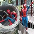 Новый Человек-паук для выпускного Косплэй костюм 3D принт Зентаи паук узор Боди Комбинезоны для взрослых Для мужчин Дети