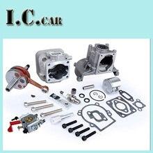 30 5CC 4 bolt engine set with 30 5CC cylinder 30 5cc crankshaft assembly walbro 668