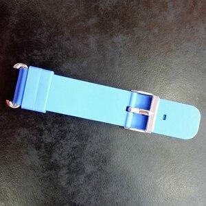 Image 3 - Substituir pulseira de relógio inteligente para pulseira de relógio q90 q750 q100 q60 q80 crianças gps tracker pulseira de silicone pulso com conexão