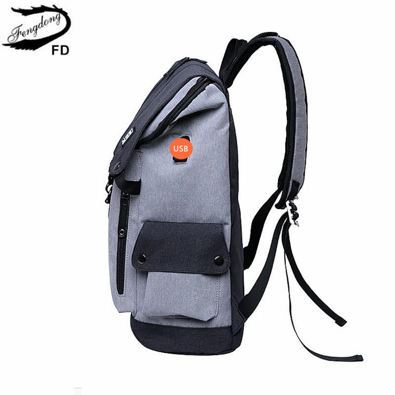 ... travel bags schoolbag boy gift. . FengDong high school backpack  waterproof school bags for boys big usb backpack anti theft bag men. sku   32854929295 6ef39b660a1fa