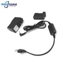 ACK E10 المحمول الطاقة كابل الشاحن + DR E10 LP E10 الدمية البطارية + USB محول لكانون EOS 1200D 1300D 3000D 4000D X80 x70 T5 T6