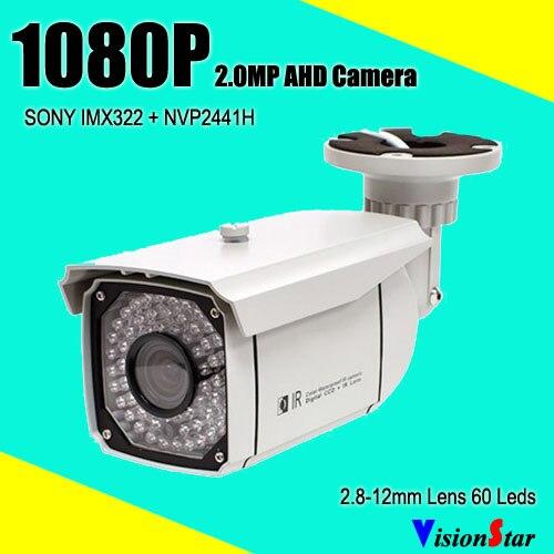 imágenes para Ahd cámara 1080 p de alta calidad directo de fábrica con menú osd motion dection de mal tiempo al aire libre